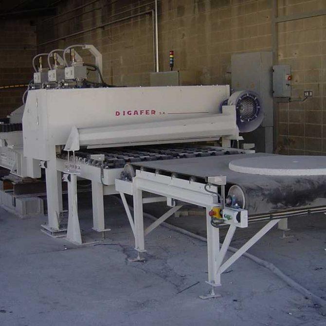 Concrete Rectifying machine.
