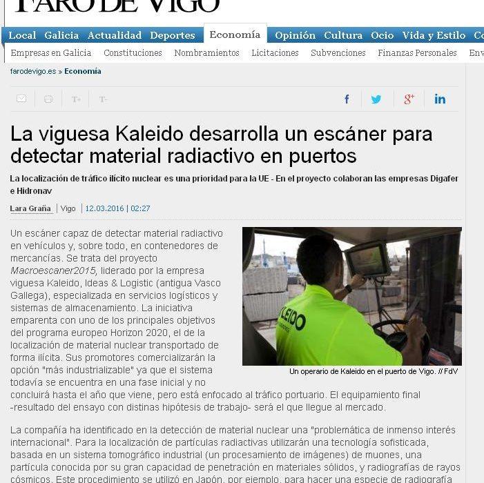 DIGAFER en Faro de Vigo
